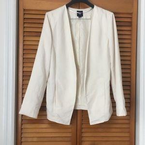 GAP | Off-White Open-Front Blazer